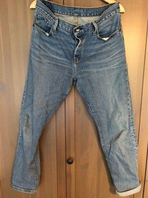 Levi's Jeans boyfriend bleu azur-bleuet