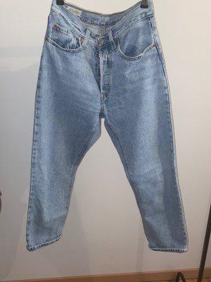 Levi Strauss & Co Spodnie typu boyfriend jasnoniebieski