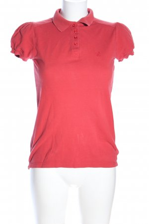 Levi's Polo-Shirt rot Casual-Look