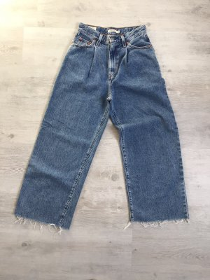 Levi's Premium Jeans/ Ribcage Pleated Crop/ High Waist/ Gr. 36
