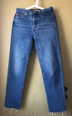 Levi's Jeansy z prostymi nogawkami niebieski-ciemnoniebieski