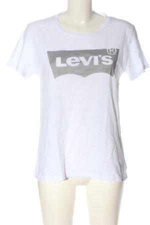Levi's Print-Shirt weiß Motivdruck Casual-Look