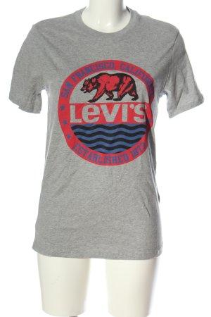 Levi's Print-Shirt meliert Casual-Look