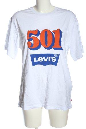 Levi's Print-Shirt Schriftzug gedruckt Casual-Look