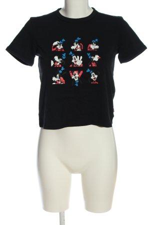 Levi's Print-Shirt schwarz Motivdruck Casual-Look