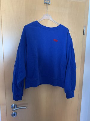 Levi's Oversized Sweater blue-red