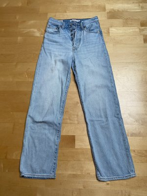 Levi's Jeansy z prostymi nogawkami błękitny-chabrowy