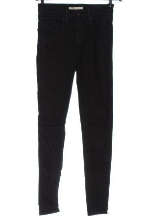 Levi's Pantalon cigarette noir style décontracté