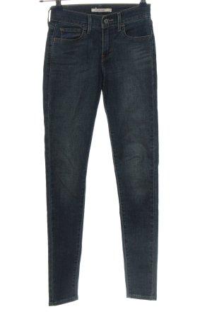"""Levi's Jeans cigarette """"710"""" bleu"""
