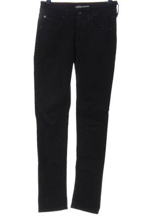 Levi's Jeans a sigaretta nero stile casual