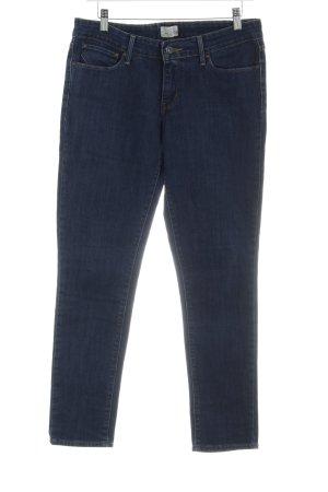 Levi's Jeans cigarette bleu-bleu foncé Application de logo
