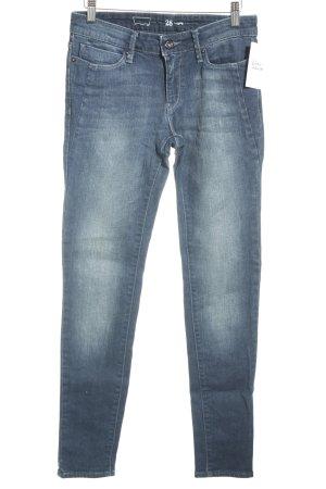 Levi's Jeans cigarette bleu foncé style décontracté