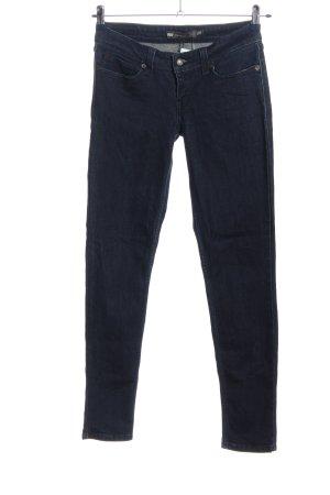 Levi's Jeans a sigaretta blu stile casual
