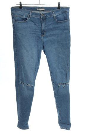 Levi's Röhrenjeans blau Casual-Look