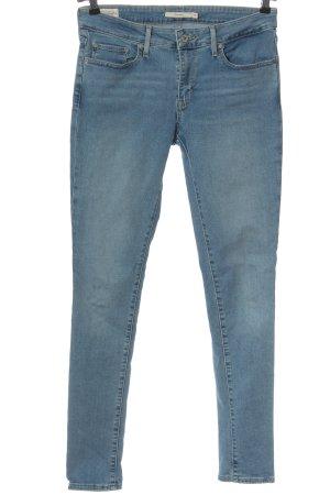 Levi's Jeans cigarette bleu style décontracté