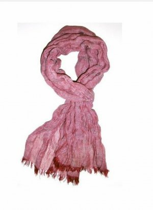 Levi's Fringed Scarf red