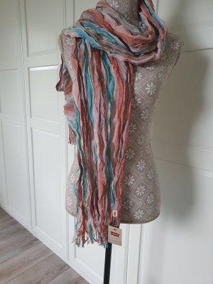 Levi's Bufanda de flecos multicolor