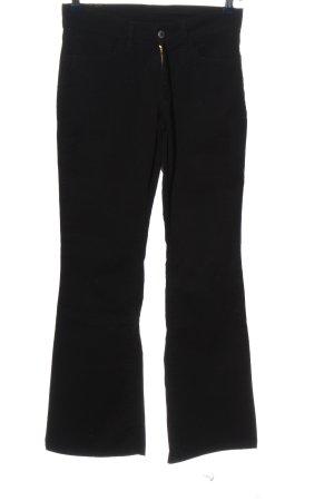Levi's Pantalon pattes d'éléphant noir style décontracté
