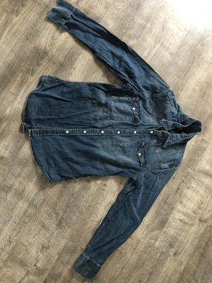Levis Chemise en jean bleu foncé