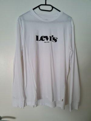Levi's Sweatshirt blanc