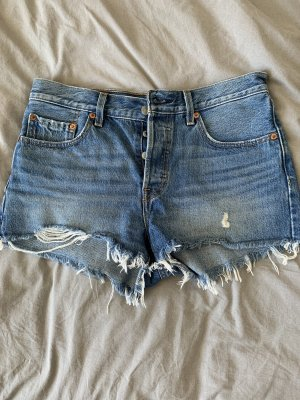 Levi's Short en jean bleu