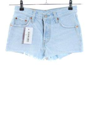 Levi's Shorts blau Casual-Look