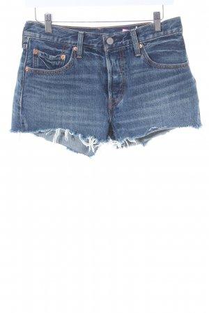 Levi's Shorts blau Casual-Look