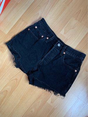 LEVI'S Shorts in Schwarz