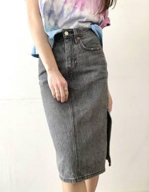 Levi's | Side Slit Denim Skirt im Used Look (W24)