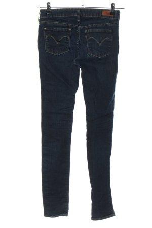 "Levi's Skinny Jeans ""Slight Curve"" blau"