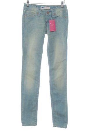 Levi's Skinny Jeans blassblau-hellgelb Casual-Look