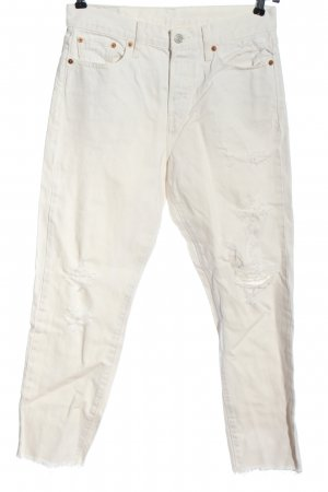 Levi's Skinny Jeans creme Casual-Look
