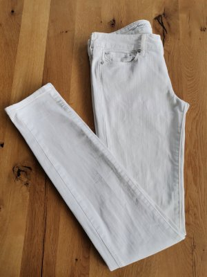 Levi's Jeans skinny blanc coton