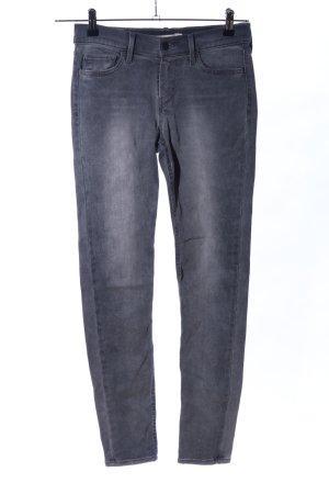 Levi's Jeans skinny gris clair style décontracté