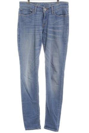 Levi's Skinny Jeans kornblumenblau-himmelblau Jeans-Optik