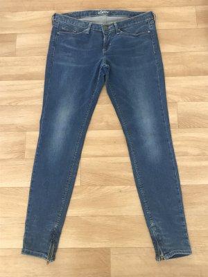 Levi's Skinny Low Waist blau W28 L30