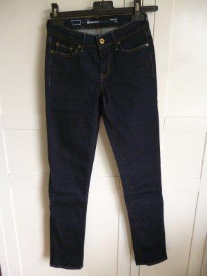 Levi's Slight Curve Classic Rise Slim Jeans in  dunkelblau ungetragen