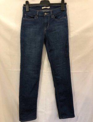 Levi's Jeans slim bleu-bleu foncé