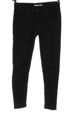Levi's Slim Jeans schwarz Streifenmuster Casual-Look