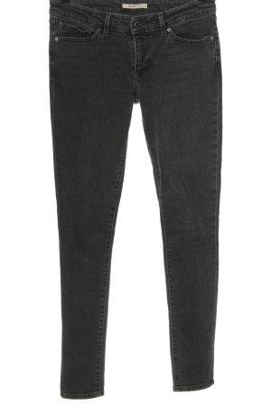 Levi's Jeans slim gris clair style décontracté