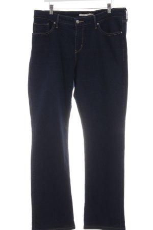 Levi's Slim Jeans blau Business-Look