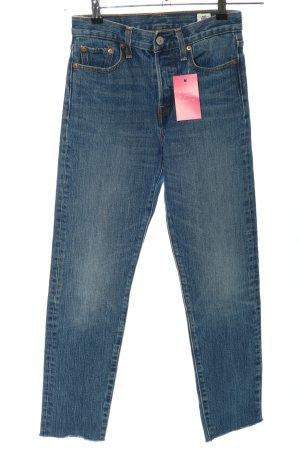 Levi's Dopasowane jeansy niebieski W stylu casual