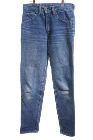 Levi's Slim Jeans blau Washed-Optik