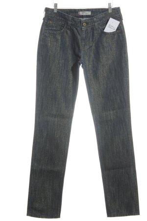 Levi's Jeans slim bleu foncé-doré style décontracté