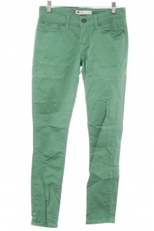 Levi's Slim Jeans green casual look