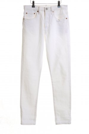 Levi's Jeans slim blanc style décontracté