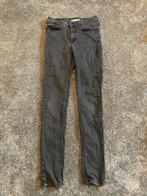Levi's slimming skinny high waisted jeans
