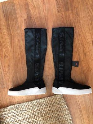 Levi's Stretch Boots black-white