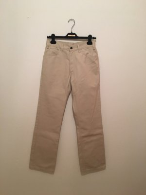 Levi's Five-Pocket Trousers gold-colored-oatmeal cotton