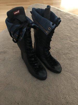 Levi's Aanrijg laarzen zwart